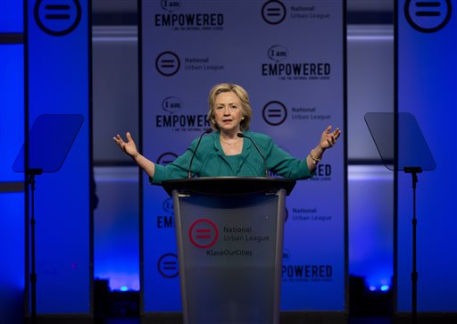 Hillary Clinton Meets With Black Lives Matter Protesters