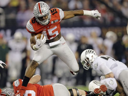 Last Year's First, Ohio State, Begins First in the NCAA 1-128 Re-Rank