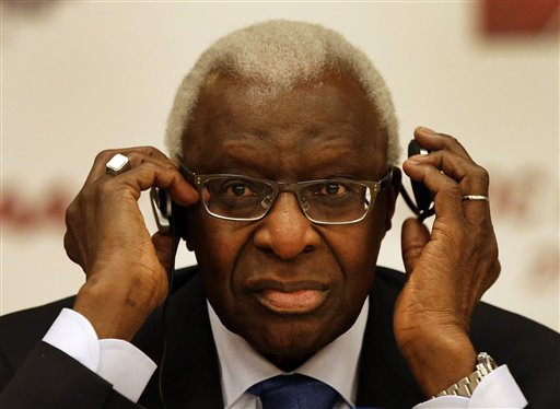 Diack Says Track's Credibility Not Undermined by Doping