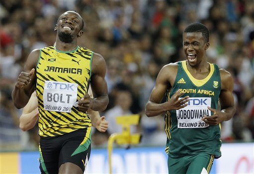 Bolt Leaves 'Em Laughing and a New Star Comes Out in 400