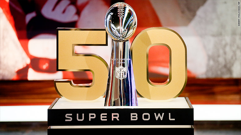 NFL Ditches Roman Numerals for Super Bowl 50