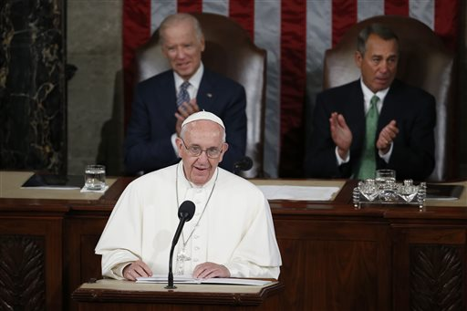 Embrace Immigrants, Pope Francis Urges Congress