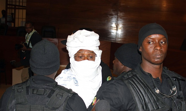 Hissene Habre: Chad's Ex-Leader Carried Into Court