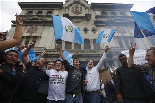 Immunity Lifted, Prosecutors Close in on Guatemala President