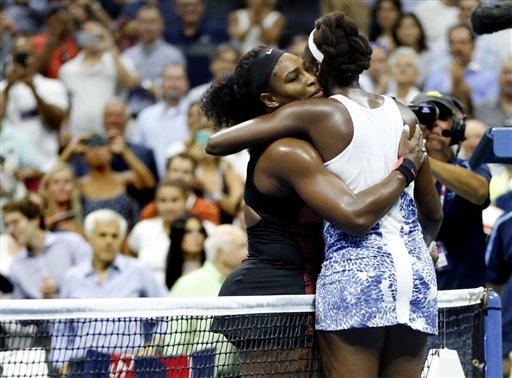 Serena Williams Beats Venus at US Open to Extend Slam Bid