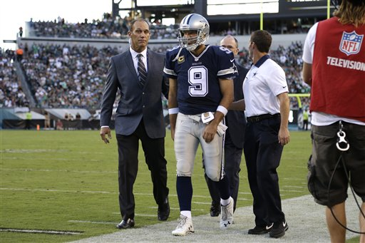 Cowboys Forced to Chart Course Without Stars Romo, Bryant