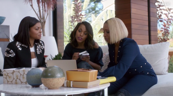 Kerry Washington, Taraji P. Henson & Mary J. Blige's Apple Music Commerical is All People Care About on Emmys Night