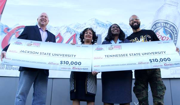 PRESS RELEASE: COORS LIGHT® CELEBRATES THE 2015 HBCU CLASSICS WITH $100,000 IN SCHOLARSHIPS