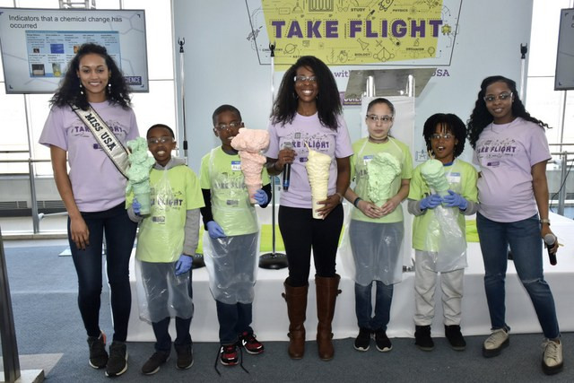 Miss USA Encourages Youth to Pursue STEAM Careers