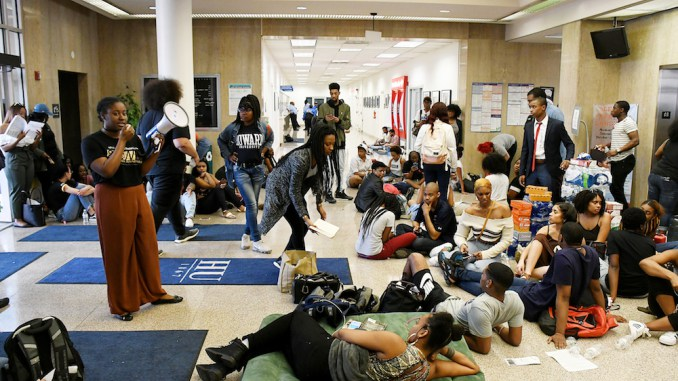 HU Students Occupy Campus Building Amid Financial Aid Scandal