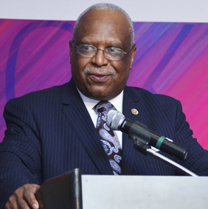 "The Black Press Honors ""Giant in the Automotive Industry"" James Farmer"