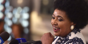 "Anti-Apartheid Crusader, ""Mother of the Nation"" Winnie Madikizela-Mandela Dies at 81"