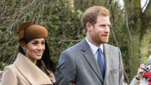 Prince Harry and American Actress Meghan Markle Exchange Vows in Blackest Royal Wedding Ever