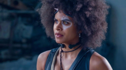 """Atlanta's"" Zazie Beetz, as Domino, a Lucky Superhero, is Brazen and Right for ""Deadpool 2"""
