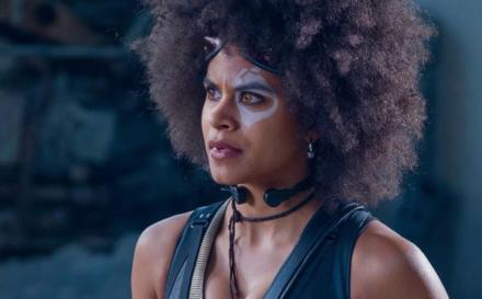 """Atlanta's"" Zazie Beetz, as Domino, a Lucky Superhero, is Brazen and Right for ""Deadpool 2"""
