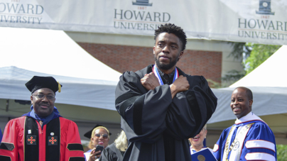 """Black Panther"" Chadwick Boseman Returns to Howard University for 2018 Commencement Address"