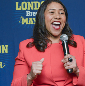 Fillmore District's Own London Breed Elected First African American Woman Mayor of San Francisco