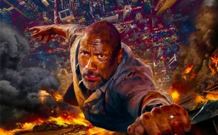 "Dwayne Johnson Charms Big in ""Skyscraper"" but Falls Short on Script"