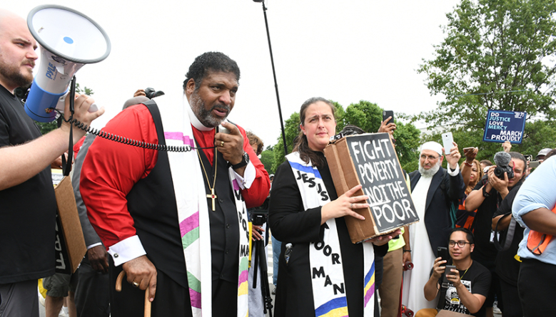 Poor People's Campaign Activists Rally in Washington