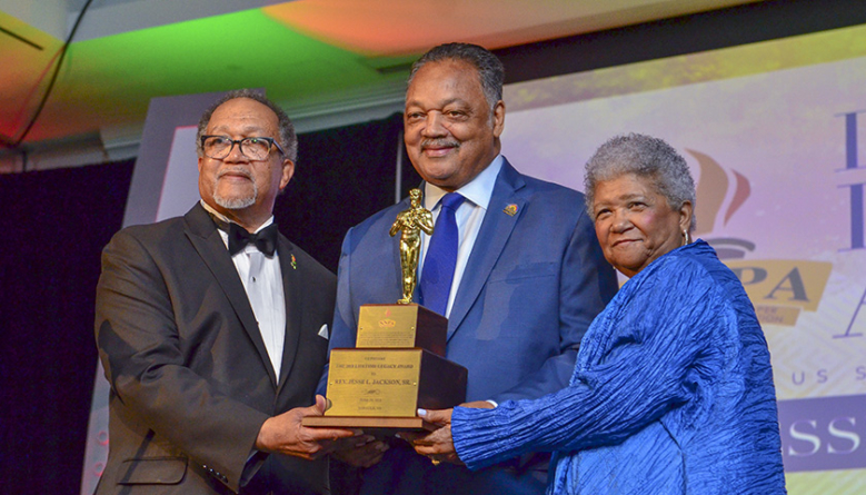 """""""Conscience of the Nation"""" Rev. Jesse Jackson, Sr., Honored with 2018 Lifetime Legacy Award"""