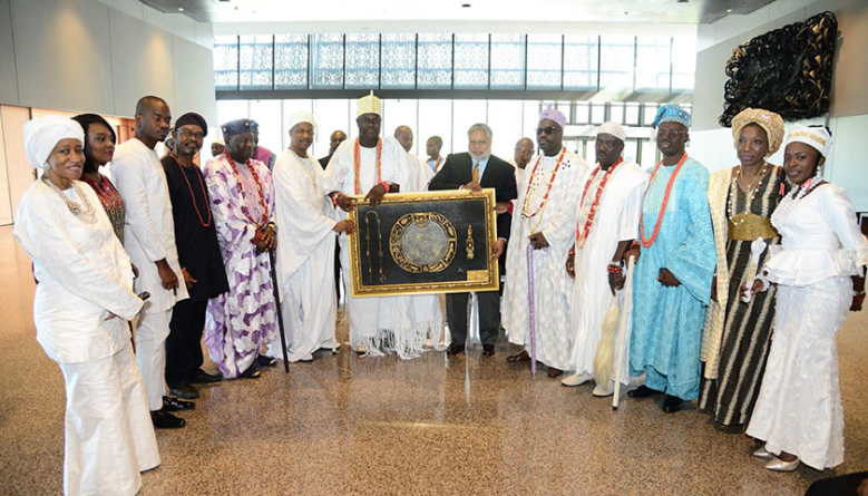 PRESS ROOM: Yoruba King Appeals to the African Diaspora to Embrace the Continent