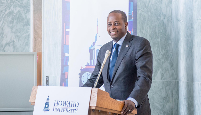 Howard University President Wayne A.I. Frederick Encourages Young People Living with Sickle Cell Disease to be Fearless