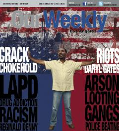 Rodney King on The Cover of Our Weekly