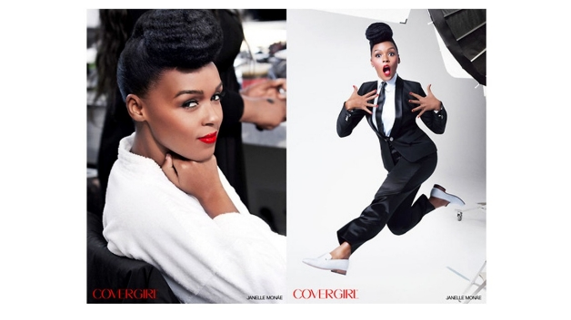 Janelle Monae in the September CoverGirl ad