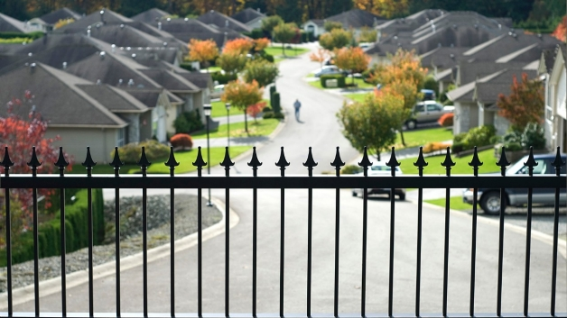 A gated community (Courtesy of BET)