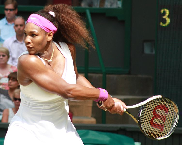 Serena Williams (Courtesy of Wikipedia)