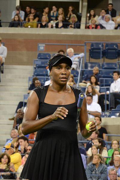 Venus Williams (Courtesy of Wikipedia)