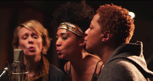 "Background Singers Jo Lawry, Judith Hill and Lisa Fischer in ""Twenty Feet from Stardom"""