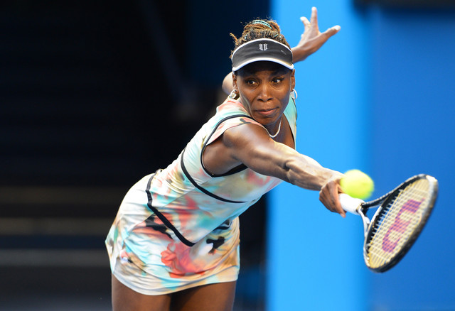 Tennis player Venus Williams, who has won a total of seven Grand Slam singles titles, lost in the first round of the French Open last month. (Courtesy of William West/AFP via Getty Images)