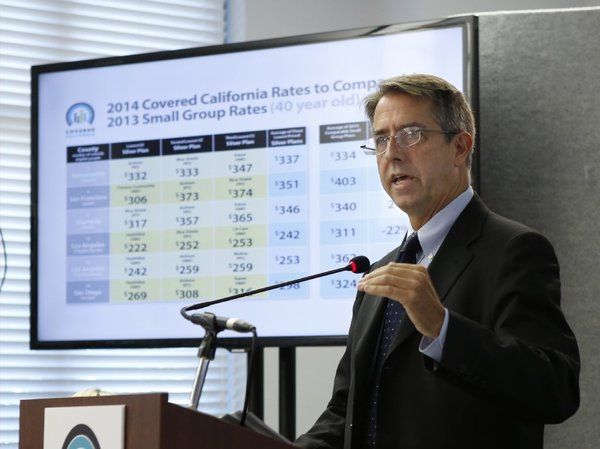 Peter Lee, executive director of California's new health insurance exchange, said a federal delay on large employer rules won't interfere with the state's marketplace for individuals. (Rich Pedroncelli / Associated Press)