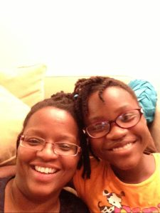 TaNoah Morgan and her daughter, Noelle.