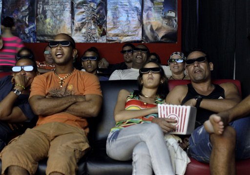 Cuba 3D Cinemas