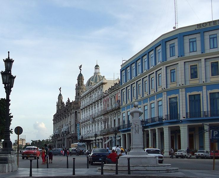 Centro Habana is the most densely populated borough of Havana, the capital city of Cuba (Courtesy of Wikipedia)
