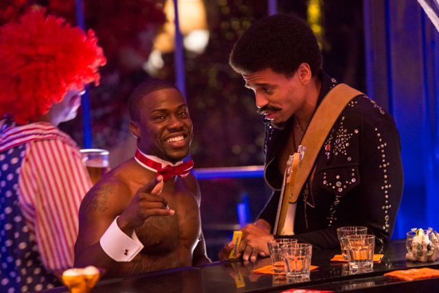 "Kevin Hart and Michael Ealy in the film ""About Last Night"""