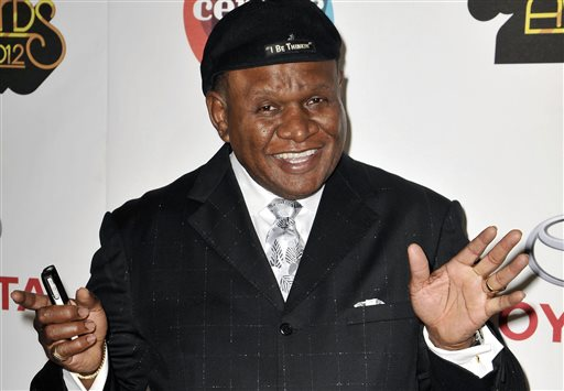 In this Nov. 8, 2012 file photo, actor and comedian George Wallace arrives at the Soul Train Awards in Las Vegas. Wallace is in a Las Vegas courtroom this week, seeking damages from a Las Vegas resort and a credit card company he blames for a leg injury he received when he tripped over electrical wiring during a private performance in December 2007. (Photo by Jeff Bottari/Invision/AP, File)