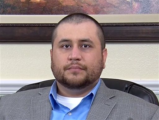 This image taken from a video released by attorney Howard Iken on Wednesday, March 12, 2014, shows George Zimmerman, the former neighborhood watch volunteer who was acquitted of murder for fatally shooting Trayvon Martin, during an interview in Orlando, Fla., on Friday, March 7, 2014. The video was made by Iken who is representing Zimmerman in his divorce. In the video, Zimmerman says he's trying to be a good person and he thinks he can help others after what he has gone through. (AP Photo/Howard Iken)