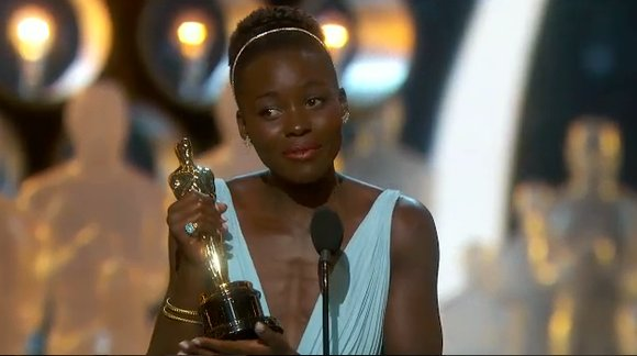 """Lupita Nyong'o won the Academy Award for best supporting actress on March 2 for her performance in """"12 Years a Slave,"""" her first role in a feature film."""