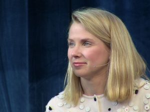 """""""While our video offering is still nascent, we have made some good progress in 2013,"""" Marissa Mayer, Yahoo's CEO, told investors in an earnings call in January."""
