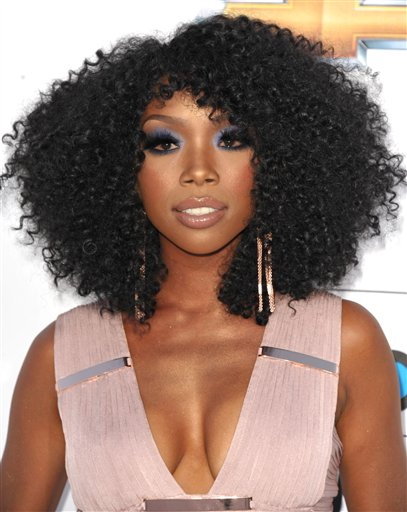Brandy arrives at the 2012 Billboard Awards at the MGM Grand on Sunday, May 20, 2012 in Las Vegas, NV.  (Photo by John Shearer/AP Images)