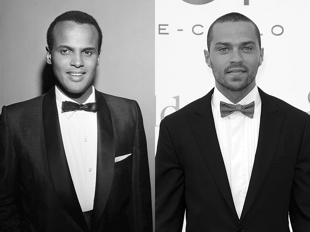 Harry Belafonte, left. (NBC via AP) and Jesse Williams, right. (Christian Alminana/AP)