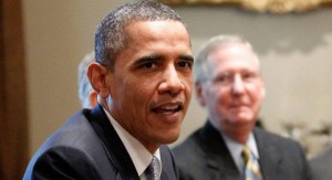 Barack Obama (left) and Mitch McConnell are pictured. (Courtesy Photo)