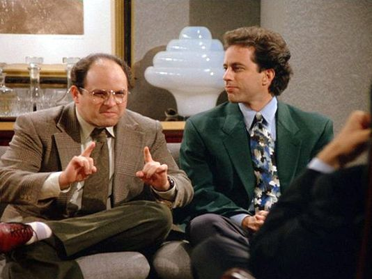 """Jason Alexander played George Costanza on """"Seinfeld,"""" a character who often worried about his male-pattern baldness. (Photo: Sony Pictures Home Entertainment)"""