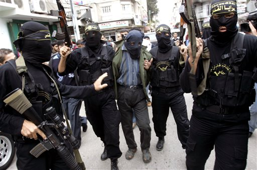 Mideast Gaza Spying for Israel