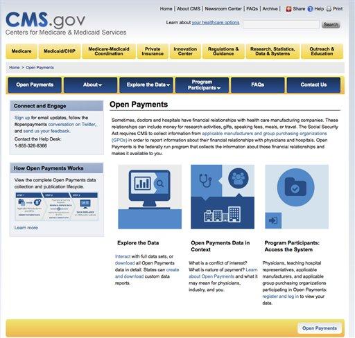 Drug Companies Doc Payments