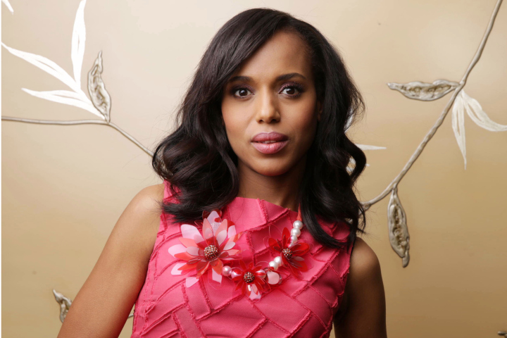 Kerry Washington poses for a portrait at the Four Seasons on Sunday, April 21, 2013 in Los Angeles. (Photo by Eric Charbonneau/Invision/AP)