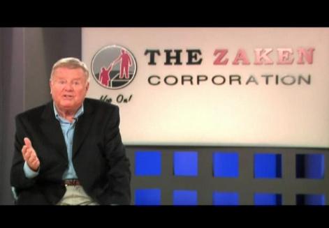 Dick Van Patten endorsing Zaken Corp. (Courtesy of Flickr)